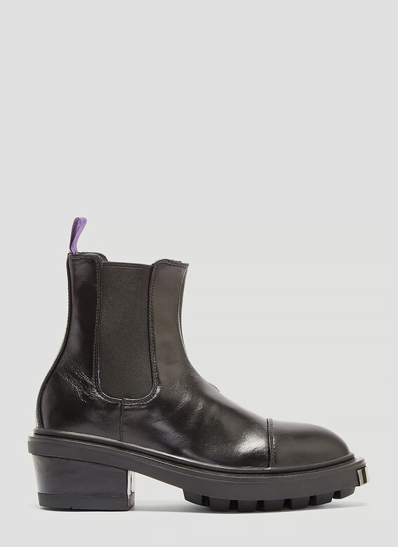 Nikita Leather Boots In Black by Eytys