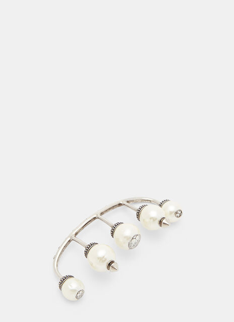 Gucci Pearl Multifinger Ring