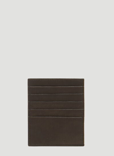 Rick Owens Leather Card Holder