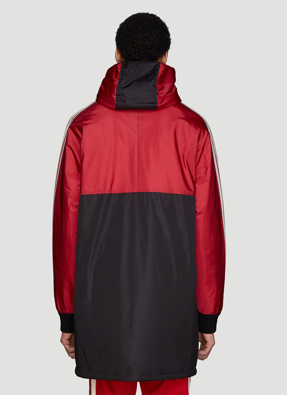 Gucci Hooded Nylon Sport Parka