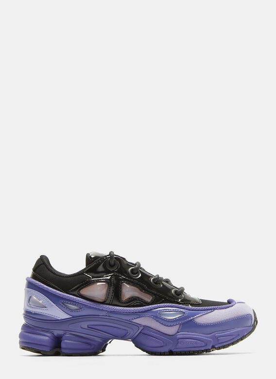 best service 0735b 0aa4c Adidas By Raf Simons. X adidas Ozweego III Sneakers in Purple and Black