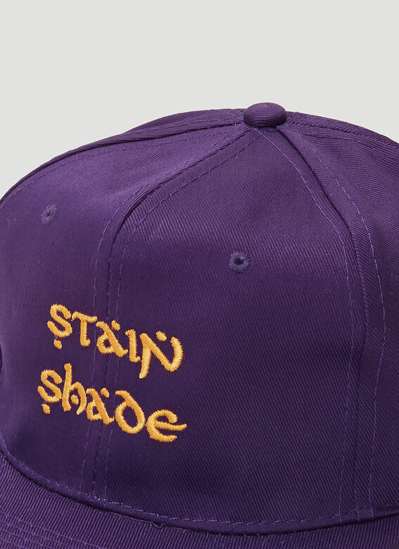 Stain Shade Embroidered Baseball Cap 5