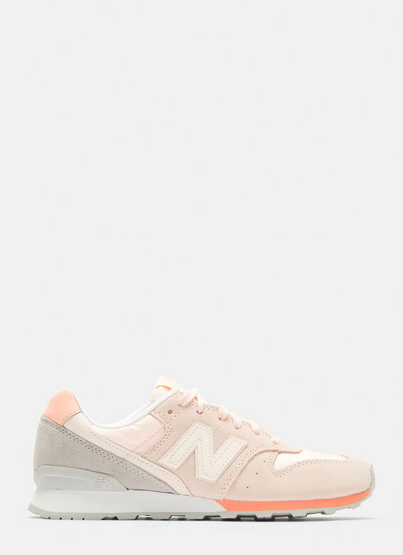 more photos ac2dd 865d6 New Balance 996 Suede and Nylon Sneakers in Black | LN-CC