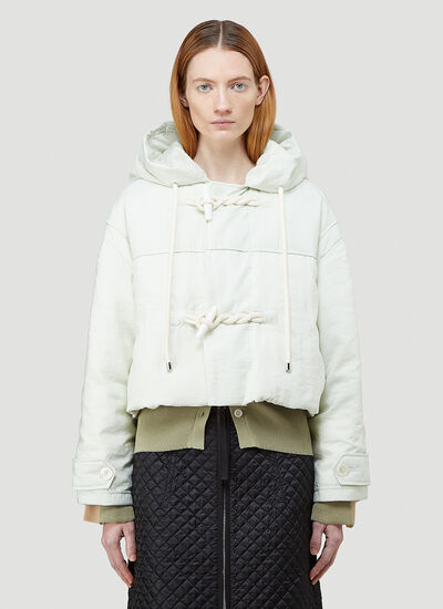 2 Moncler 1952 Whitepearl Down Jacket
