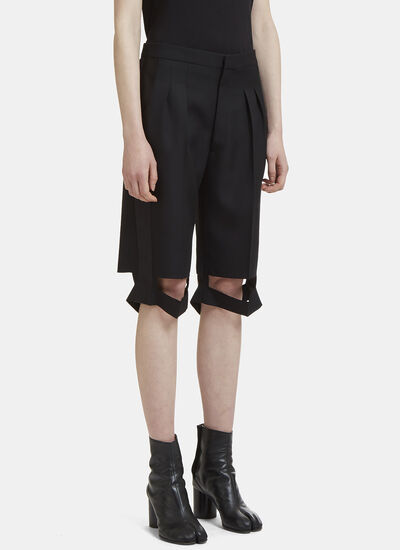 Maison Margiela Deconstructed Tuxedo Shorts