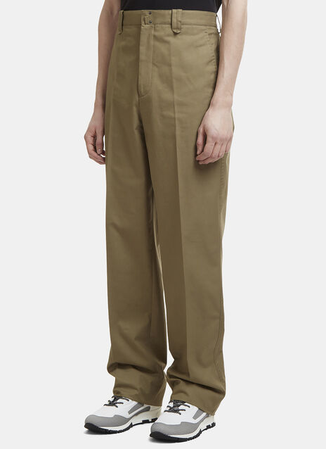 Lanvin Tacked Seam Cargo Pants