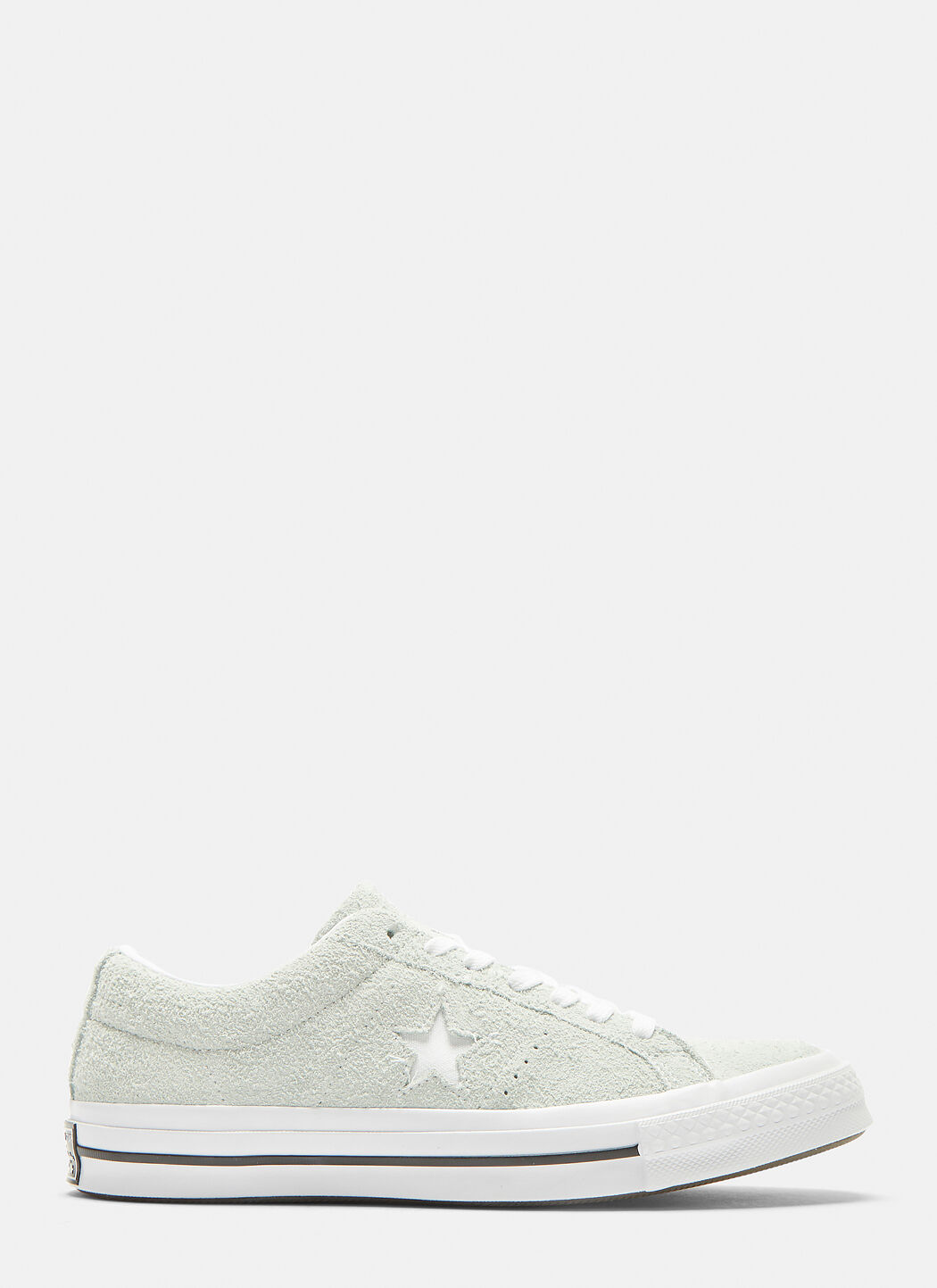 Converse One Star Suede Sneakers in White | LN CC