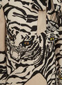 Valentino Tiger Print Dress