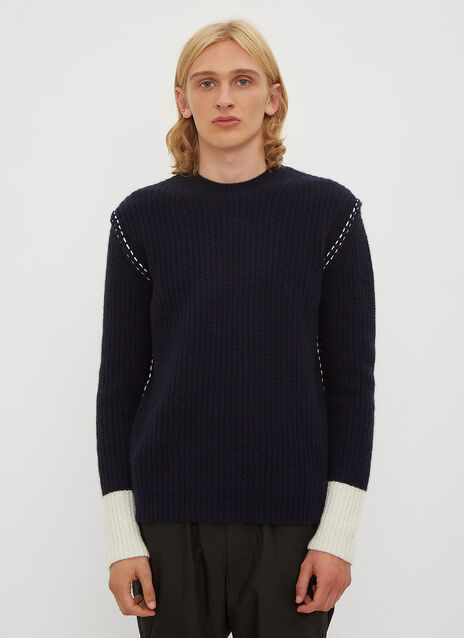 Valentino Chunky Knit Stitch Jumper