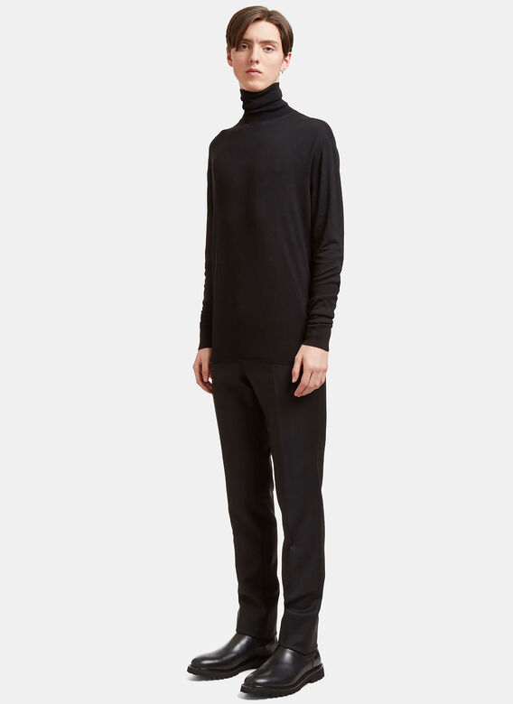 Aiezen AIEZEN Cashmere and Silk Roll Neck 2