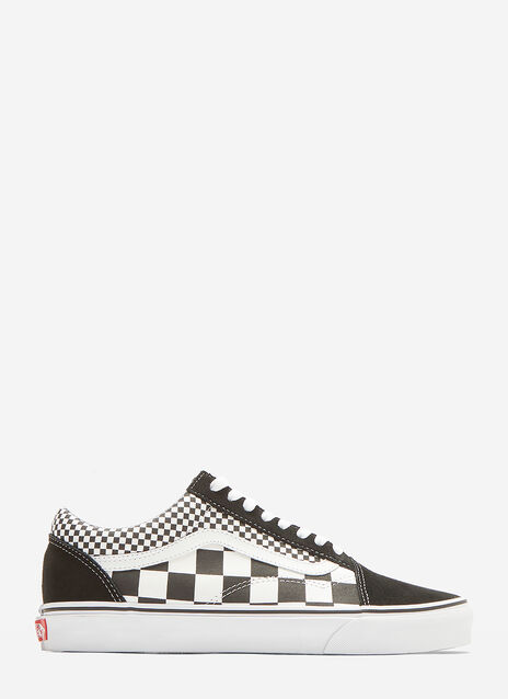 Vans Classic Old Skool Mix Checkerboard Sneakers