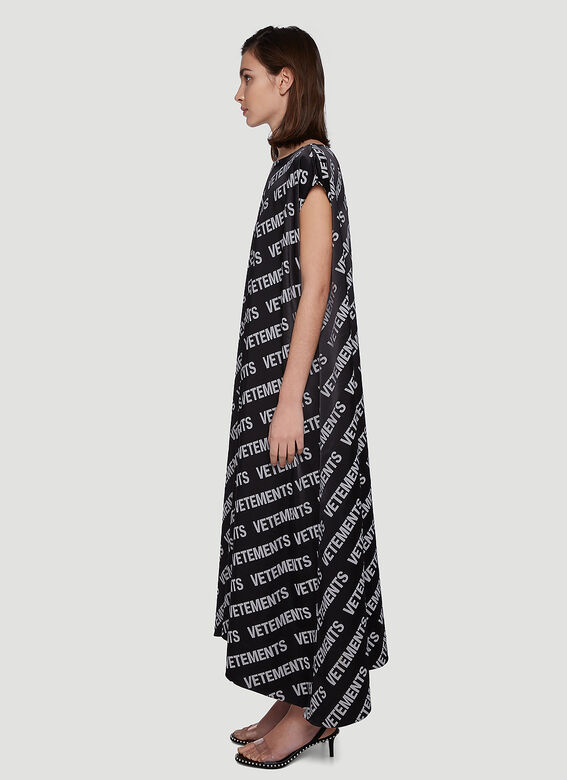 Vetements ALL-OVER LOGO SUMMER DRESS 3