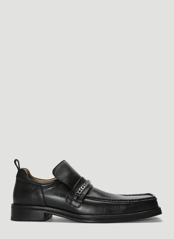 Martine Rose Boots Square Toe Loafer Boots