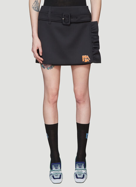 Prada Technical Skirt