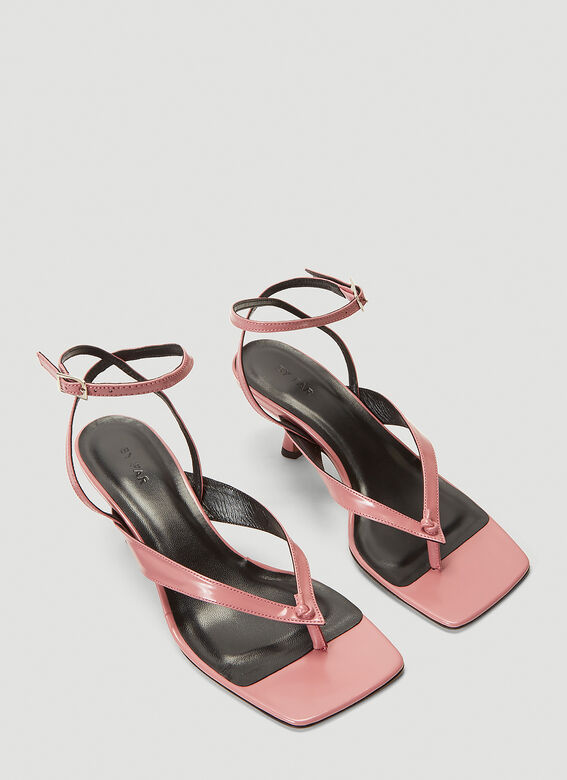 BY FAR Mindy Heeled Sandals 2