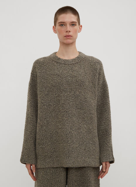 Lauren Manoogian Knitweave Crew Neck Sweater