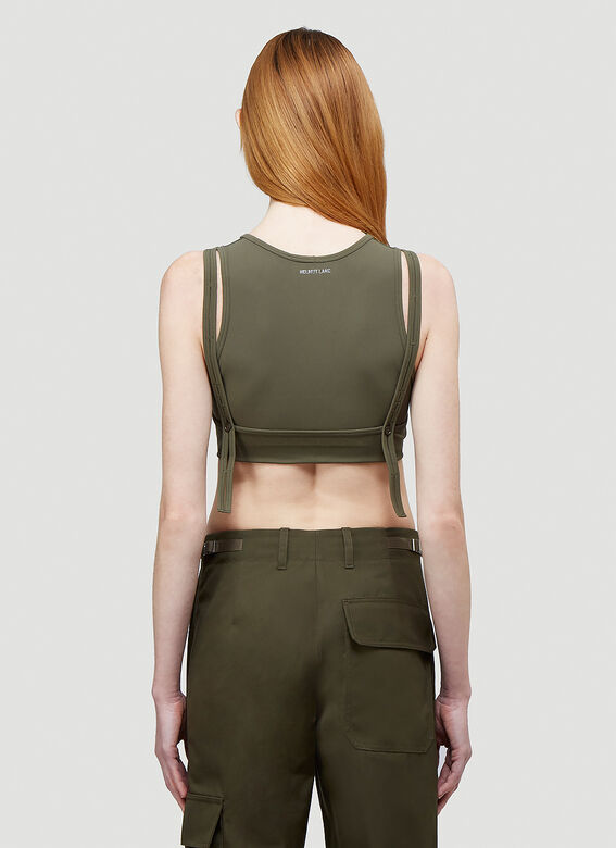 Helmut Lang Double Cropped Top 4