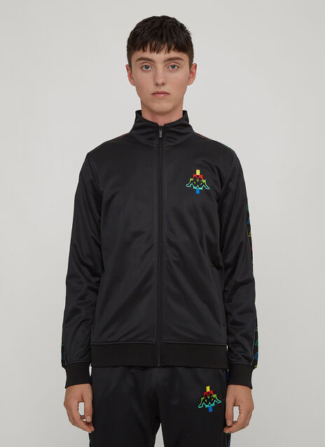 Marcelo Burlon X Kappa Multi-Coloured Kappa Logo Track Top