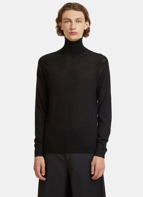 Norton Roll Neck Fine Knit Sweater