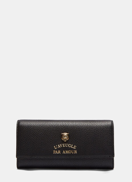 Gucci Animalier Continental Wallet