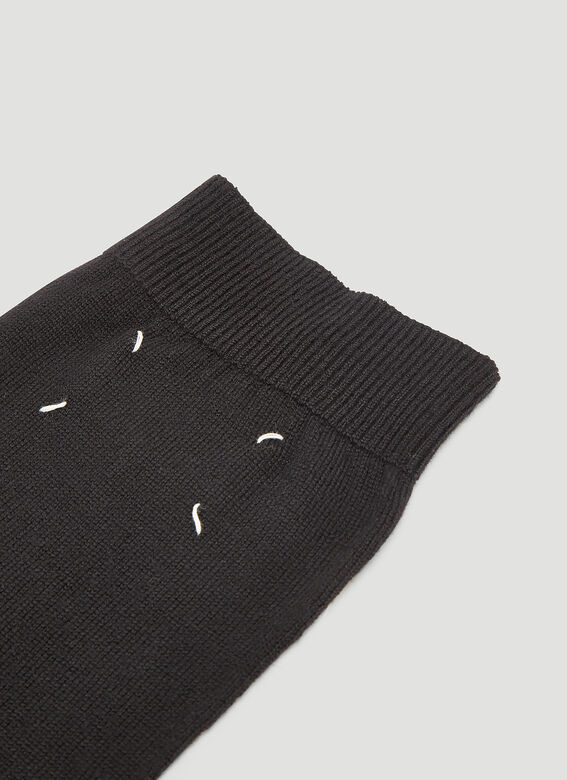 Maison Margiela Tabi High Wool Socks
