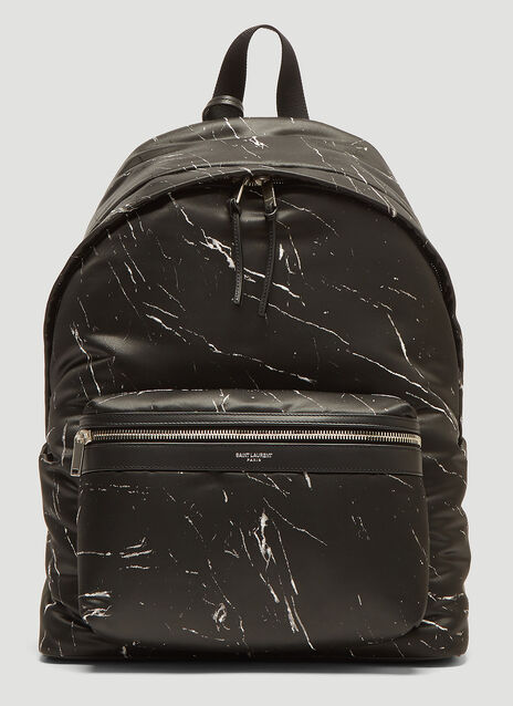 Saint Laurent Marble City Backpack