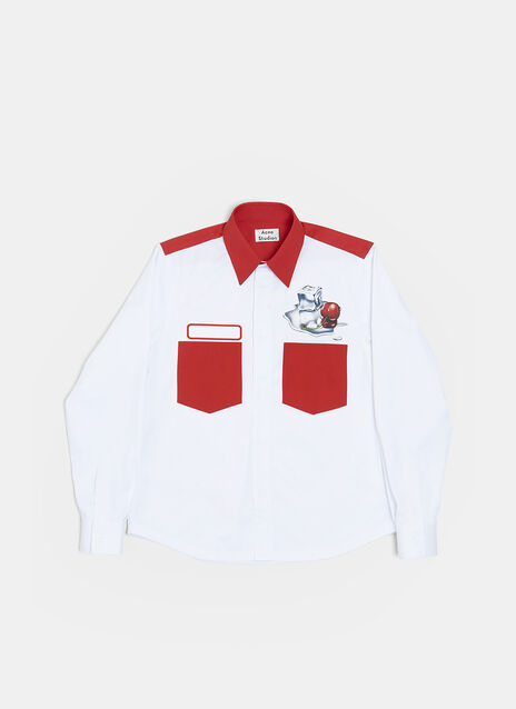 Acne Studios Ice Cube Cherry Shirt