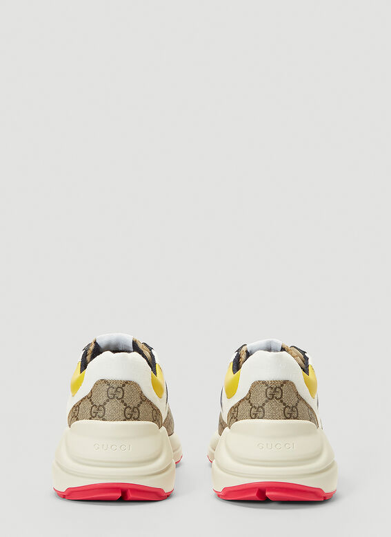 Gucci RHYTON DIRTY SNEAKER IN COLOURED PANELS 4