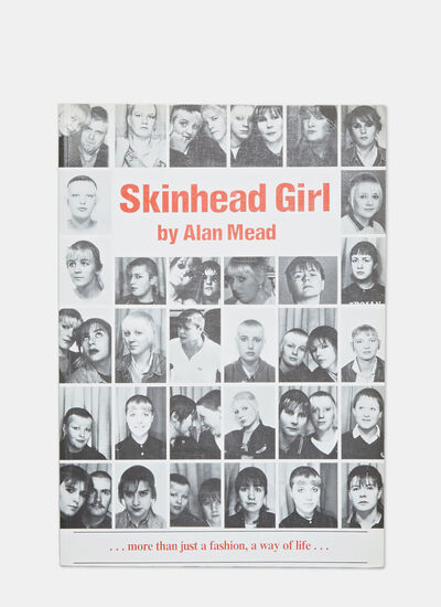 Books Skinhead Girl by Alan Mead