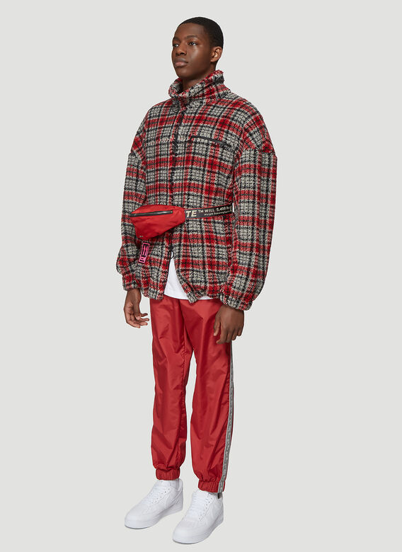 5e51ae8b Off-White Arrow Side Track Pants in Red | LN-CC