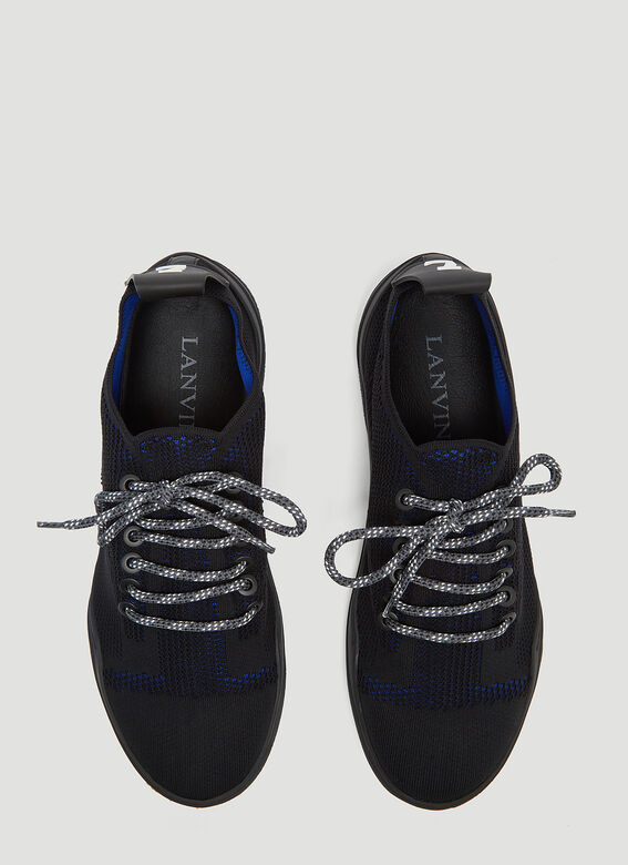 Lanvin Diving Knit Sneakers