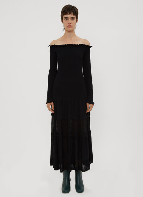 Altuzarra Ruffle Knit Dress