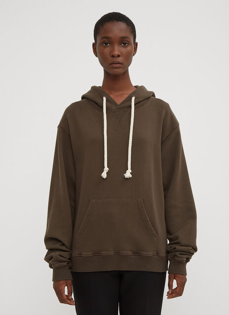 JW Anderson Embroidered Logo Hooded Sweatshirt
