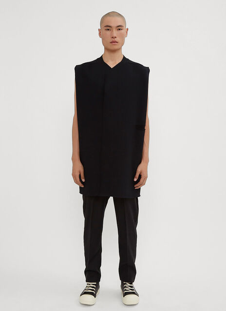 Rick Owens Sleeveless Cardigan