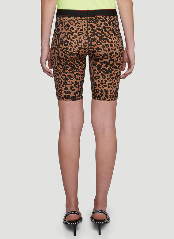 VETEMENTS Leopard Cycling Shorts 4