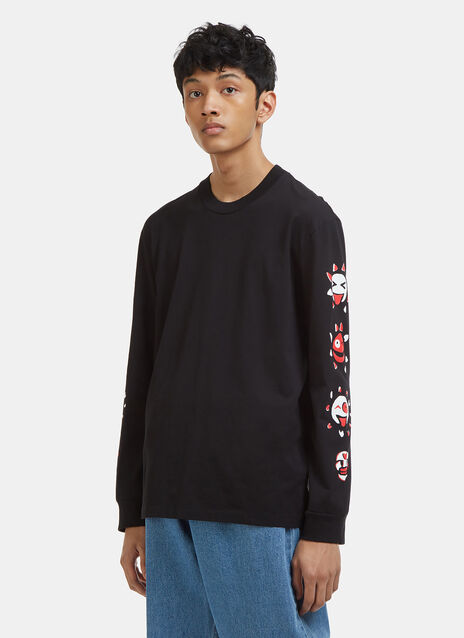 Maison Margiela Long Sleeve Sun T-Shirt