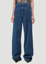 Y/Project CLASSIC PEEP SHOW JEAN