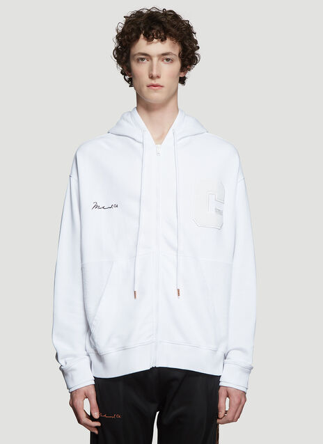 Marcelo Burlon x Muhammad Ali Hooded Ali Zip Up Sweatshirt