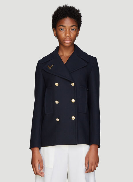 Valentino Caban Coat