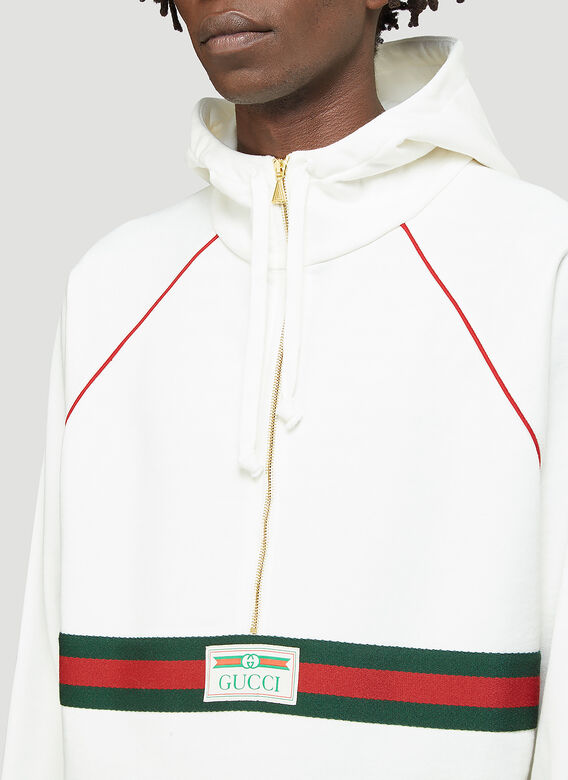 Gucci Half-Zip Hooded Sweatshirt 5