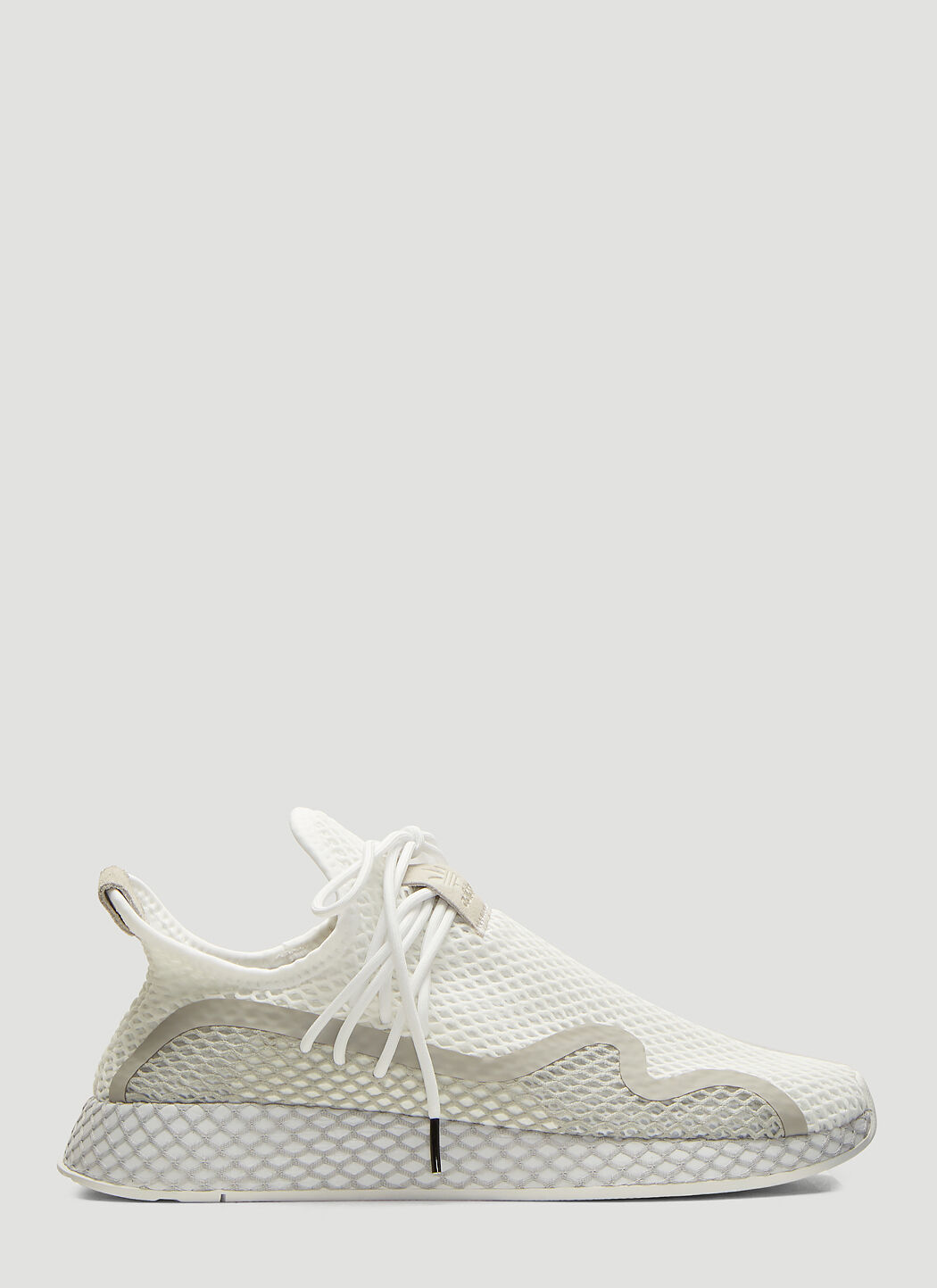 Adidas Deerupt Runner Shoes in White   LN CC