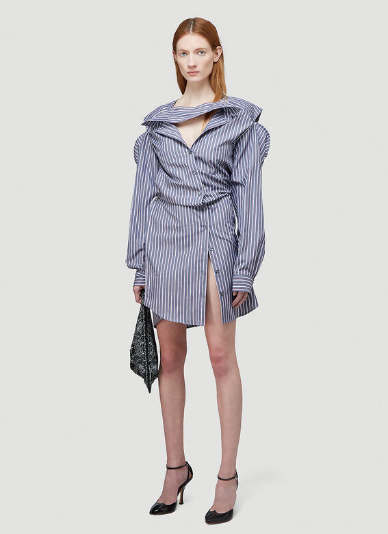 Y/Project CONVERTIBLE SHIRT DRESS 2