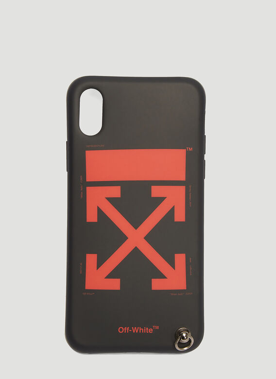 Off-White iPhone X Case with Strap