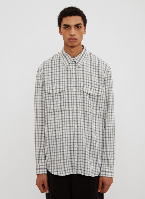 Our Legacy  Crepe Check Shirt