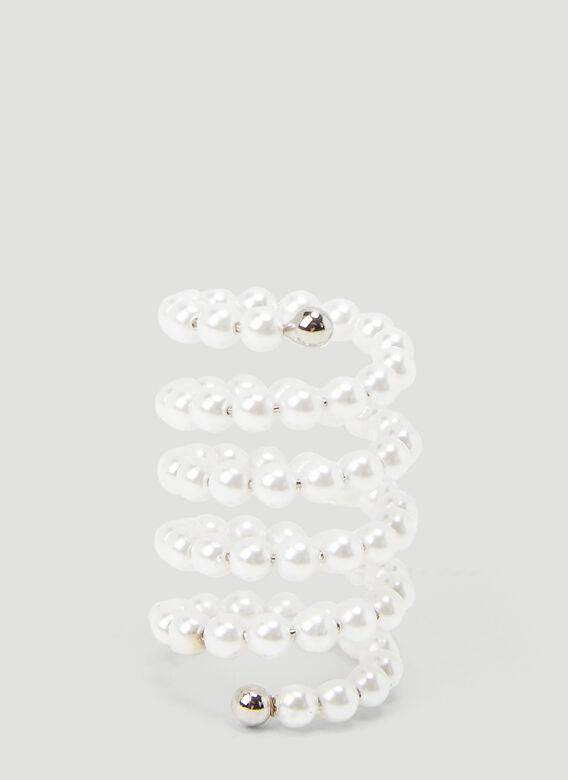 Y/Project SET OF SPIRAL RINGS 3