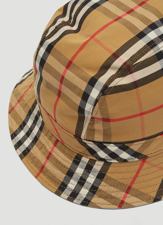Burberry MH 2 PANEL BUCKET HAT:117330 5