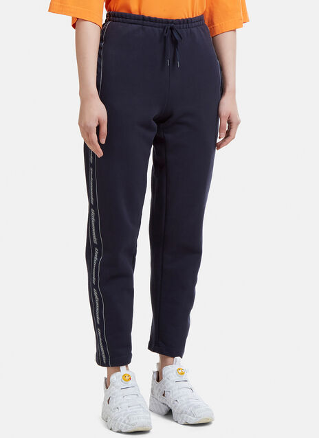 Vetements Logo Tape Track Pants