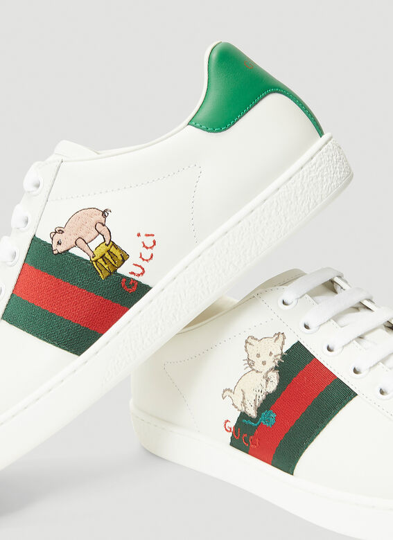 Gucci ACE WITH CAT LOGO 5