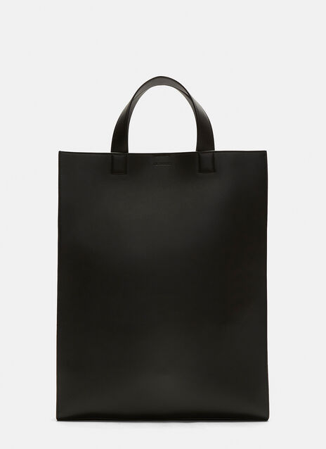 Jil Sander Slim Leather Tote Bag