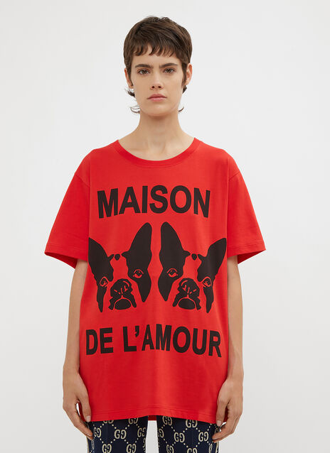 Gucci Oversized Bosco and Orso T-Shirt